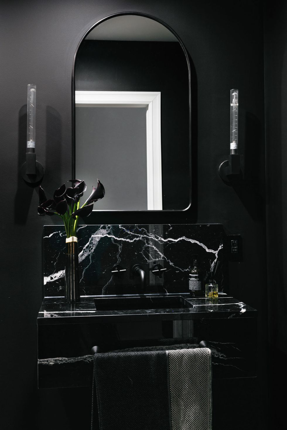 black bathroom interesting bath ideas