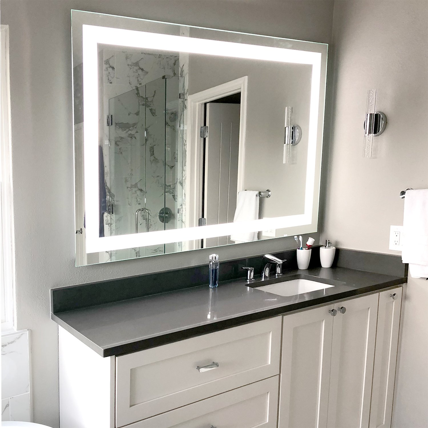 LED-Bathroom-Vanity-Mirror-Rectangular-Front-Lighted