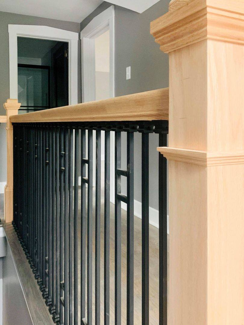 Stairway railing installation Chicago