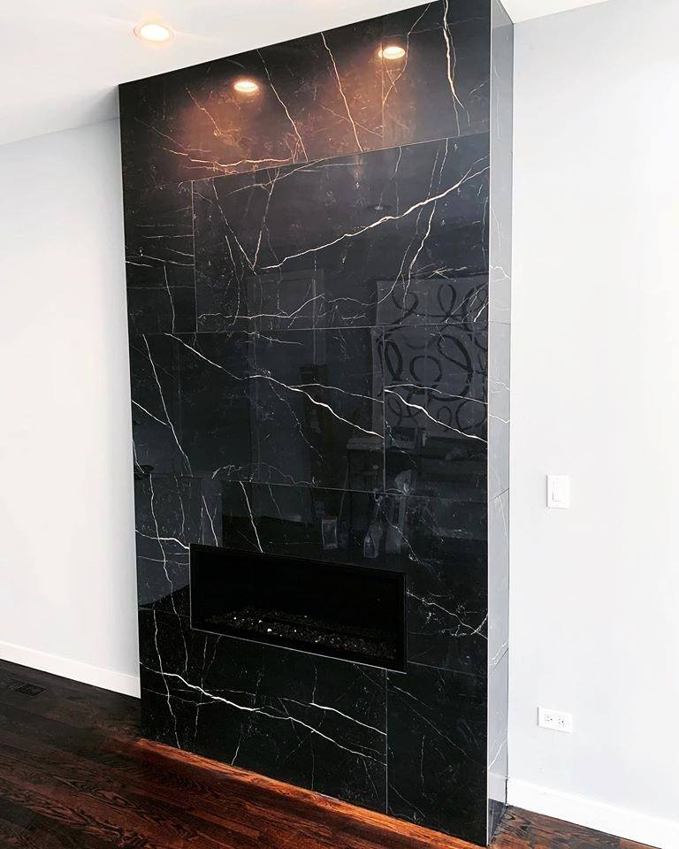 home remodeling Chicago - fireplace U.S. Home Construction Inc.