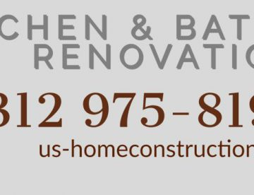 Suburbs of Chicago, kitchen and bathroom remodeling and renovation
